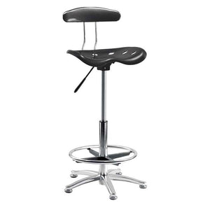 Teknik Tek Black Draughter Chair (OF5004CH-BLK)