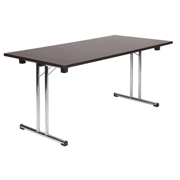 Teknik Space Folding Table in Wenge (6909WE)