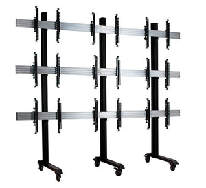 B-Tech BT8371 - Video Wall Stand for 3 x 3 Display Wall