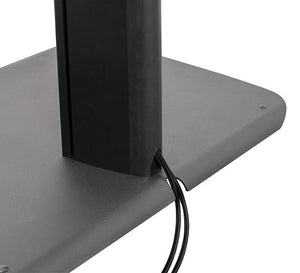 B-Tech BTF845 1.8m High Twin Screen Video Conferencing Stand for Screens up to 55 inches