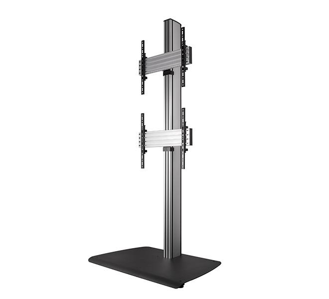 B-Tech BTF841 Dual TV Stand for Screens up to 65 inches