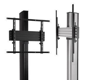 B-Tech BTF842 2.4m High Dual TV Stand for Screens up to 65 inches