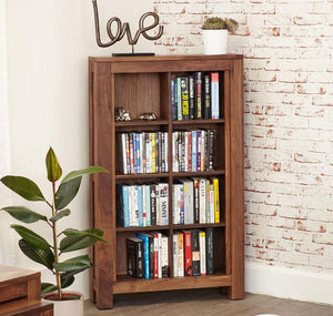Baumhaus Mayan Walnut DVD Storage Rack (CWC17A)