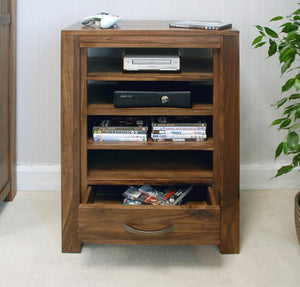 Baumhaus Mayan Walnut Entertainment Unit (CWC09C)