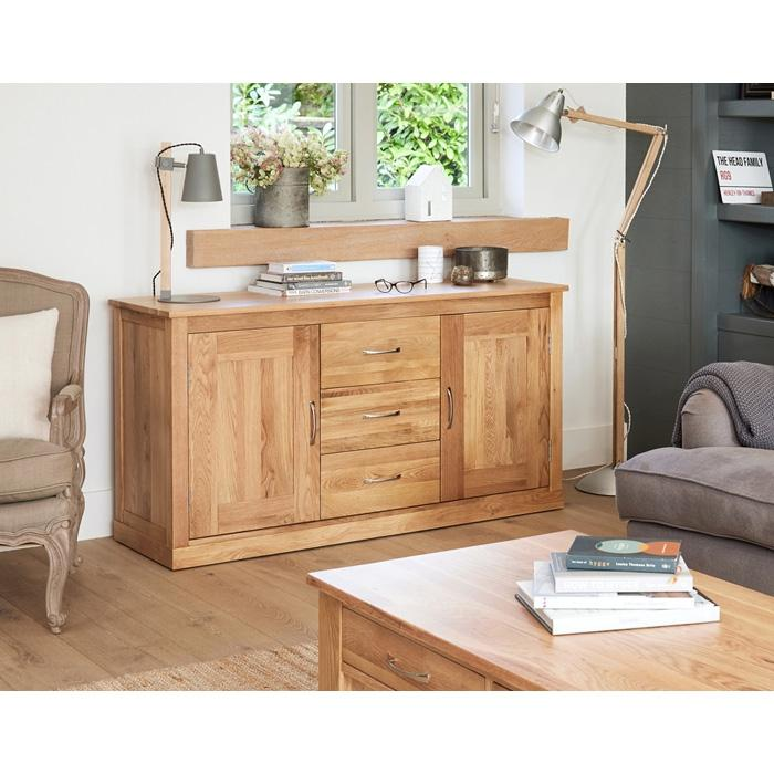 Baumhaus Mobel Oak Large Sideboard  (COR02A)