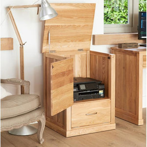 Baumhaus Mobel Oak Printer Cupboard (COR07C)