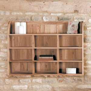 Baumhaus Mobel Oak Reversible Wall Rack (COR07B)