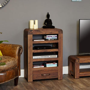 Baumhaus Shiro Walnut Entertainment Unit (CDR09C)