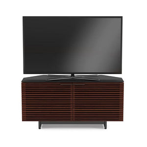 BDI Corridor 8175 Chocolate Walnut Corner TV Cabinet