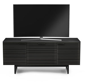 BDI Corridor 8177 Charcoal Stained Ash TV Cabinet