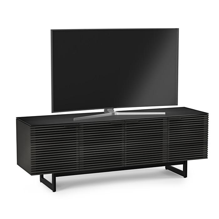 BDI Corridor 8179 Charcoal Stained Ash TV Cabinet