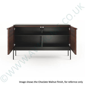 BDI Corridor SV7128 Slimline Charcoal Stained Ash TV Cabinet
