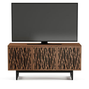 BDI Elements 8777 Wheat Natural Walnut Media Cabinet