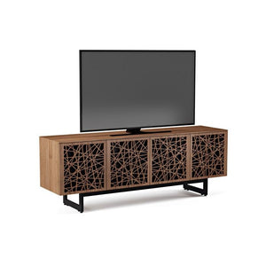 BDI Elements 8779 Ricochet Natural Walnut Media Cabinet