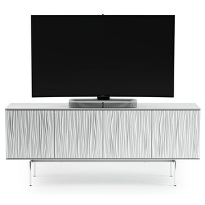BDI Tanami 7109 Satin White TV Stand