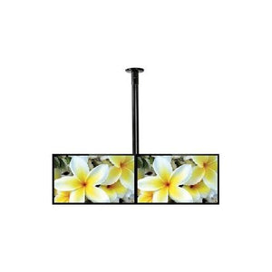 B-Tech BT2X1CLT - Twin Screen TV Ceiling Mount