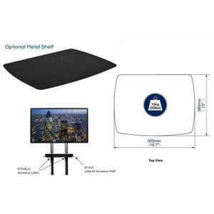 B-Tech BT4002 TV Floor Stand for screens up to 65-inch