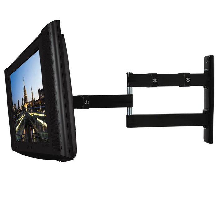 B-Tech BT7513B - Black Dual Arm TV Wall Bracket for TVs up to 23inch