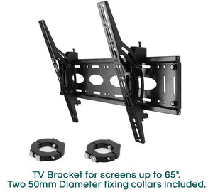 B-Tech BT7822 - Modular TV Ceiling Bracket Top Plate