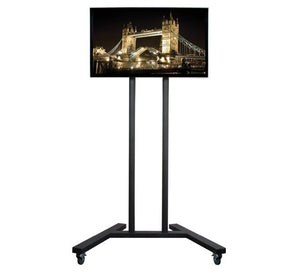 B-Tech BT8503 - Mobile TV Trolley Stand For Screens Up To 60 Inch