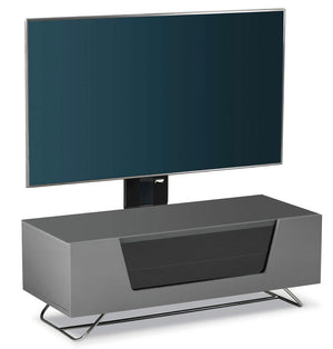 Alphason Chromium 1200mm TV Stand with Bracket in Grey (CRO2-1200BKT-GR)