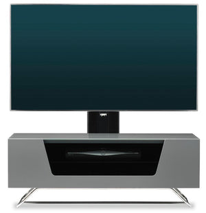 Alphason Chromium 2 Grey Cantilever TV Stand (CRO2-1000BKT-GRY)