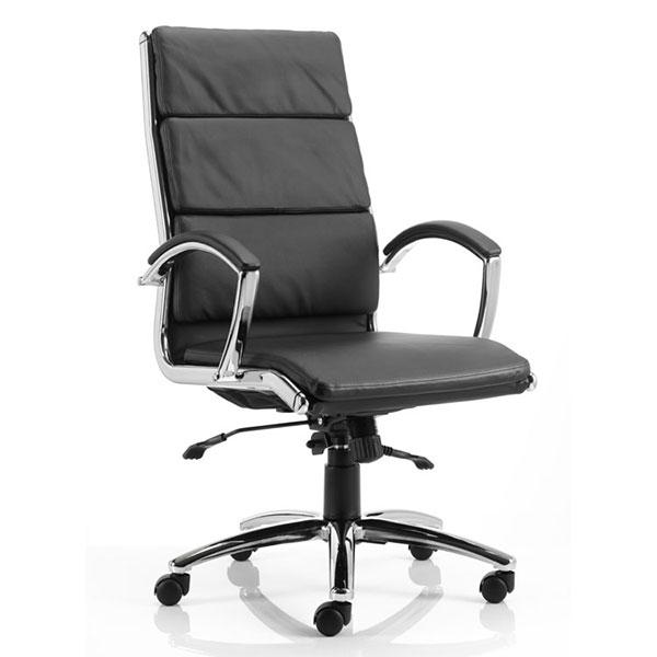 Dynamic Classic Executive Office Chair in Black