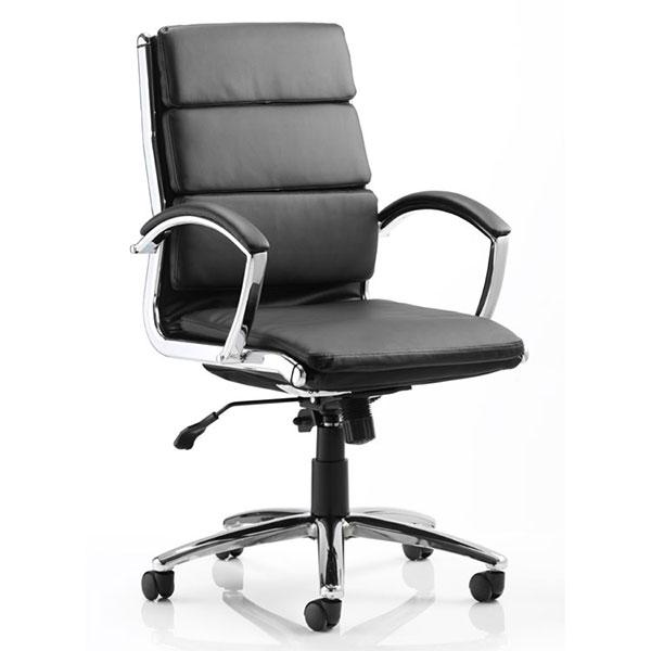 Dynamic Classic Medium Back Executive Office Chair in Black
