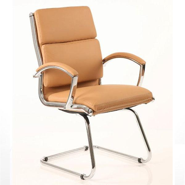 Dynamic Classic Visitor Office Chair in Tan