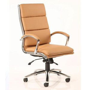 Dynamic Classic Executive Office Chair in Tan