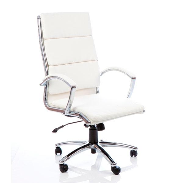 Dynamic Classic Executive Office Chair in White