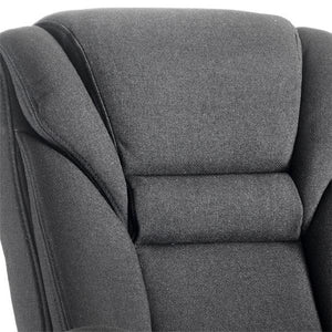 Dynamic Galloway Visitor Fabric Office Chair in Black