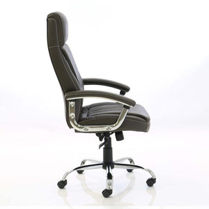 Dynamic Penza Luxury Executive Leather Office Chair in Brown