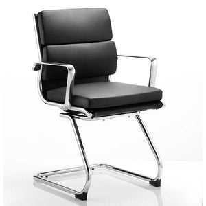 Dynamic Savoy Visitor Office Chair in Black