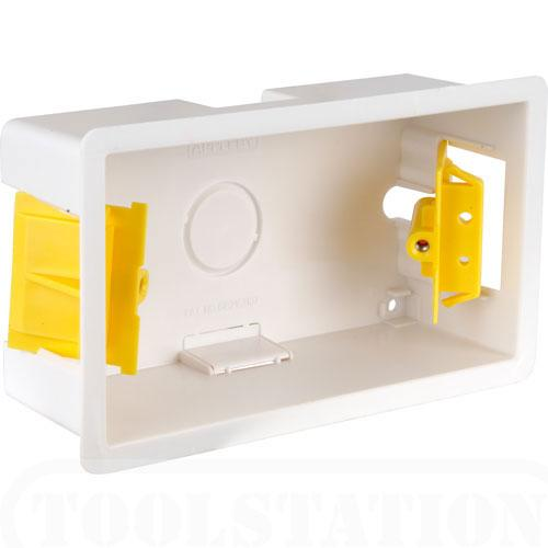 AV4-CP-PL410205 - Flush Mounted Double Gang back box for AV wallplate installations
