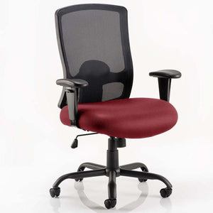 Dynamic Portland HD Black Mesh Executive Office Chair