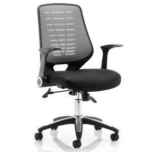 Dynamic Relay Airmesh Silver Operator Chair