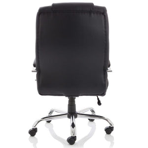 Dynamic Texas HD Luxury Executive Leather Office Chair in Black