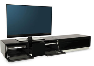 Alphason Element EMT2100 High Gloss Black TV Cabinet