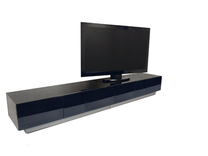 Alphason Element EMT2500 High Gloss Black TV Cabinet