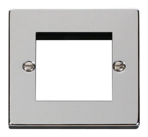 Click Deco Single Plate Twin Aperture Media Module (VPCH311)