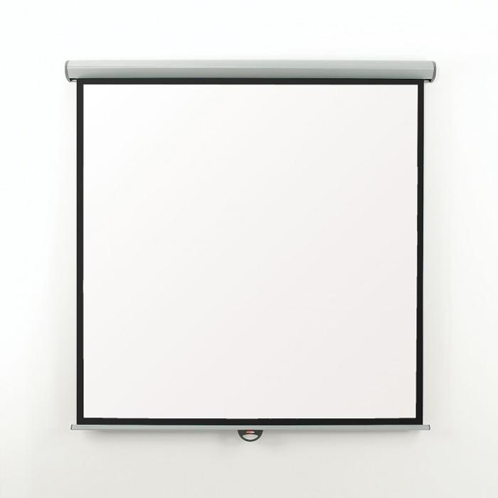 Eyeline EMS20W 200cm x 200cm Manual Projector Screen (1:1)