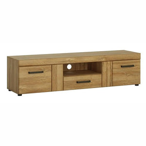 Furniture To Go Cortina 2 Door 1 Drawer Wide TV Cabinet In Grandson Oak (4325156)