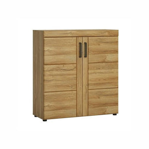 Furniture To Go Cortina 2 Door Shoe Cabinet In Grandson Oak (4323156)