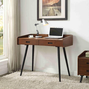 Jual Vienna PC609 Walnut Office Desk with Drawers