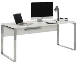 Maja Yas 180cm Wide White Office Desk (1527 5534)