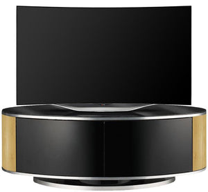 MDA Designs Luna Oak Oval TV Cabinet