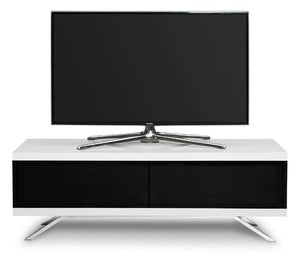MDA Designs Tucana Hybrid White TV Stand