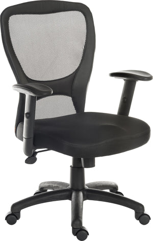 Teknik Mistral 2 Mesh Office Chair in Black (6967)