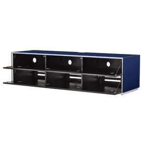 Optimum Project 1600GG Gloss Midnight Blue Enclosed TV Cabinet